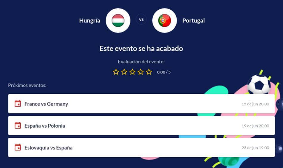 Pronóstico Hungría vs Portugal