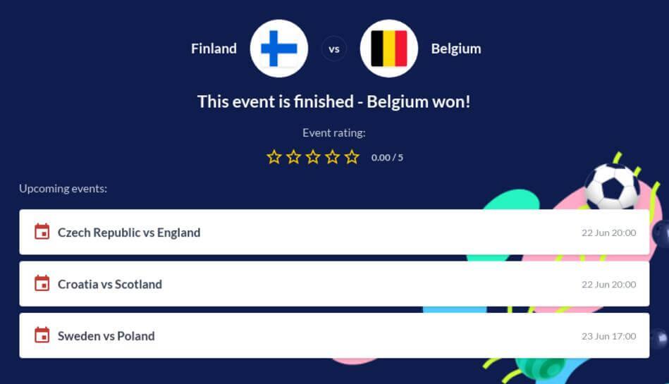 Finland vs Belgium Betting Tips
