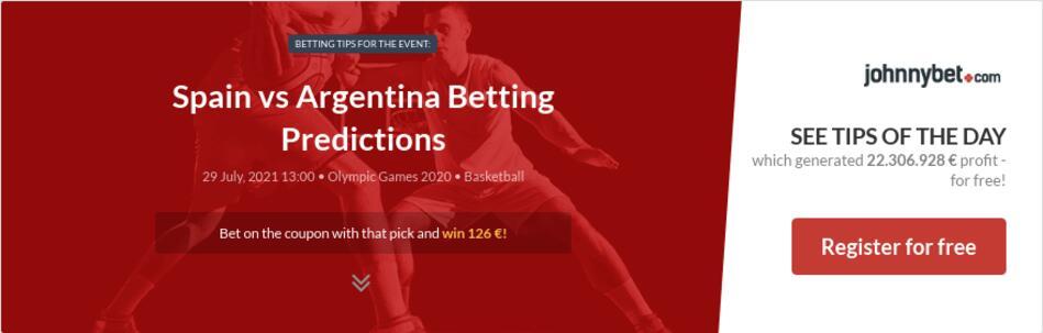 Spain vs Argentina Betting Predictions