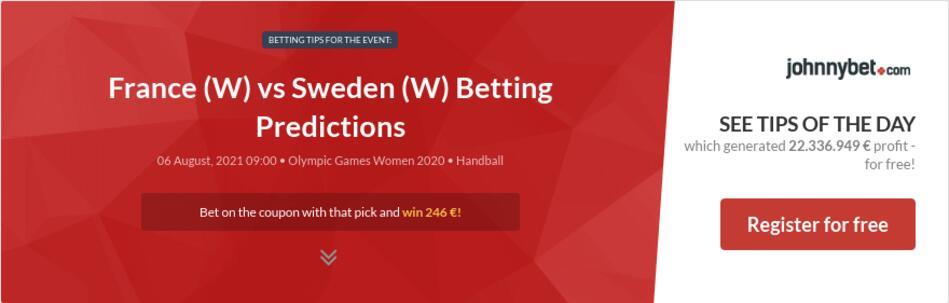 France (W) vs Sweden (W) Betting Predictions