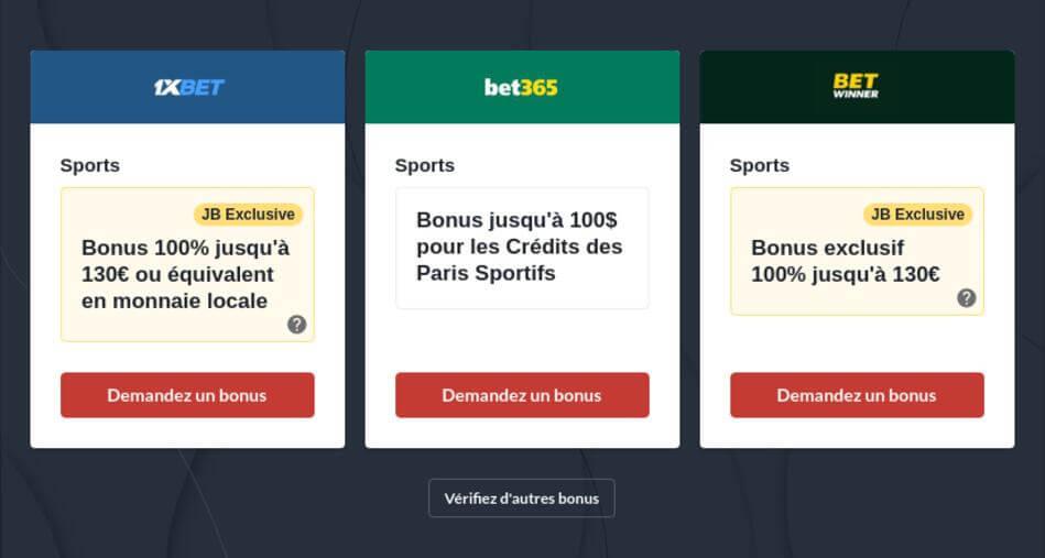 Paris sportifs en ligne au Maroc