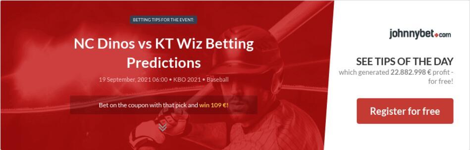 NC Dinos vs KT Wiz Betting Predictions