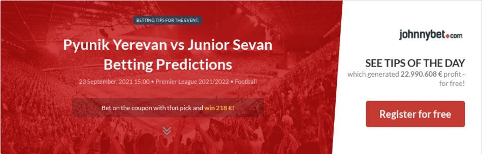 Pyunik Yerevan vs Junior Sevan Betting Predictions
