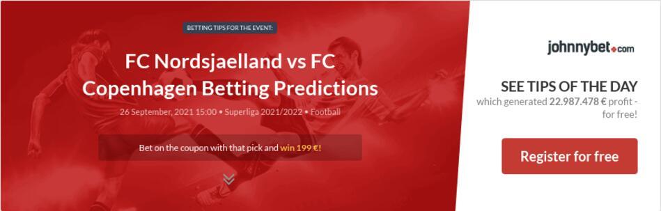 FC Nordsjaelland vs FC Copenhagen Betting Predictions