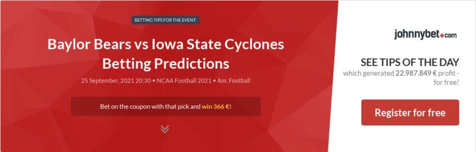 Baylor Bears vs Iowa State Cyclones Betting Predictions