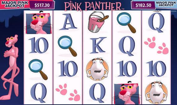 Help inspector clouseau win a jackpot in pink panther slots Yakınca
