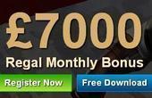 7Regal Casino promo code 2021