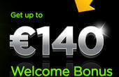 Receive welcome bonus up to £/€/$140 at 888casino
