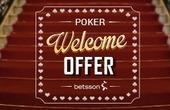 Engedmény a póker szekcióban - €1000 és $2000