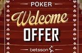 Betsson Poker promo code