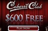 Cabaret Club welcome bonus