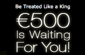 Casino King bonus during registration