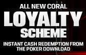 Coral poker promo code