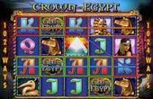 Play Crown of Egypt online slot machine