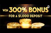 Casino Moons welcome bonus