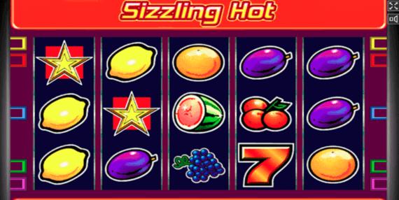 Sizzling Hot Deluxe Online Zdarma
