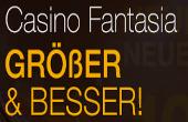 aktuellen Promo-Code für Casino Fantasia