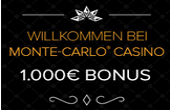 Monte-Carlo Casino Bonus