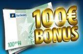 Erhalten Sie den Stargames Bonus bis 100€