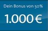 Erhalten Sie den Sunmaker Bonus bis zu 1000€