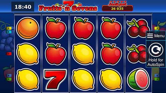 Fruit Machine On Line
