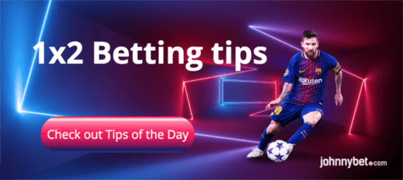 Soccer betting tip of the day betting shop display systems