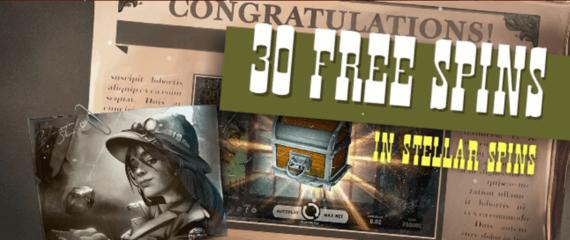 Go Wild Casino 30 Free Spins Bonus