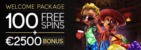 Welcome Package bonus promotion at Vegas Crest Casino online