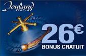 Joyland Casino numéro de coupon bonus gratuit sans dépôt