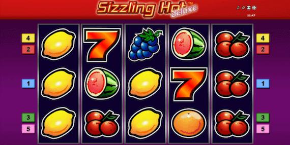 Sizzling Hot Slot Besplatno