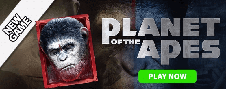Planet of the Apes cheeky riches casino new game