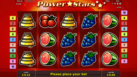 Gaminator Power Stars Online